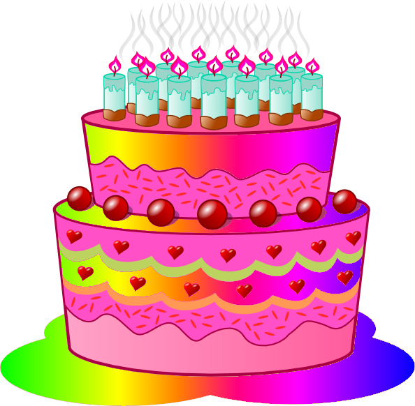 Tart clipart cartoon Birthday Free Images Clipart Art