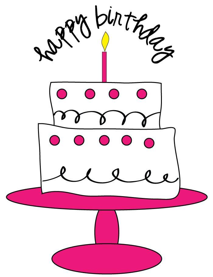 Champagne clipart birthday cake Pinterest 25+ Clipart Birthday scrapbooking!