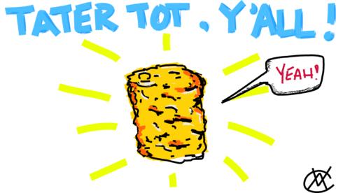 Tater Tot clipart Ideas Tot Tater WeSharePics Drawing