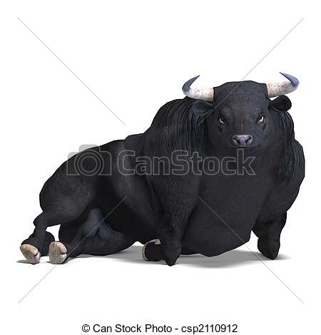 Taurus clipart bullock Illustration and fight Stock Bullock