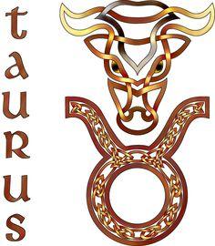 Zodiac clipart celtic Taurus deviantart com+on+@  Search