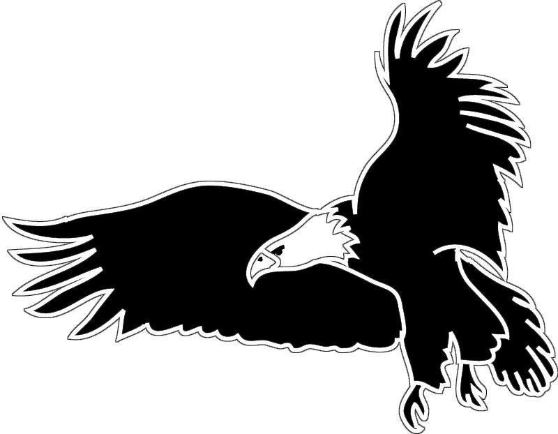 Black Eagle clipart silhouette BaldEagle for or  for