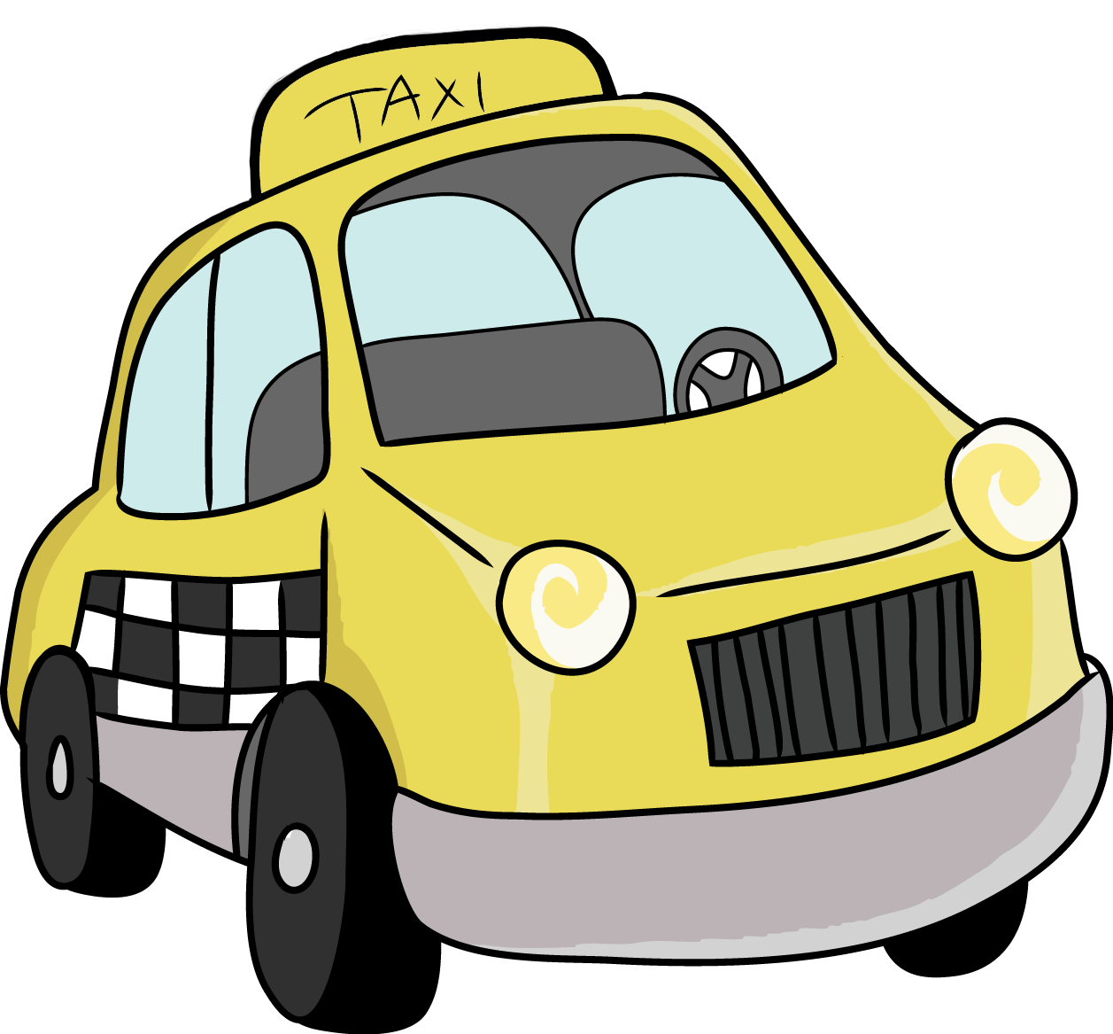 Toy clipart taxi #2
