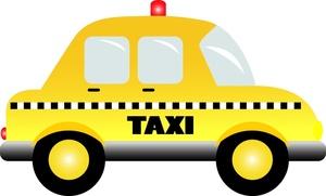 Taxi clipart Taxi Stock Clipart Stock Art