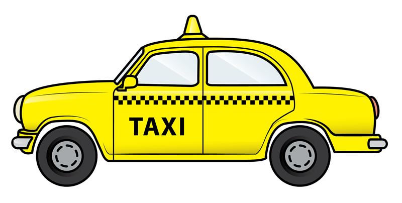 Taxi clipart car rental Clip Taxi Public Art Domain