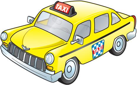 Taxi clipart Taxi art art Free Taxi