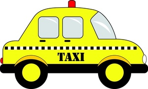 Taxi clipart taxi stand Panda White And Images Free