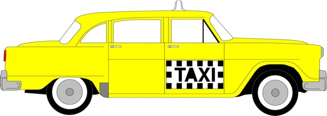 Taxi clipart cab On PHONE Art Download Clip