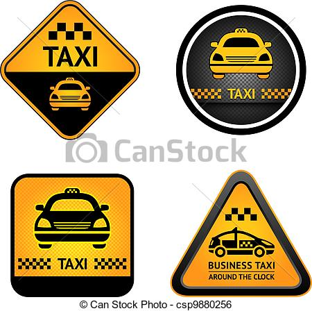 Taxi clipart cab Stickers Taxi of Art cab