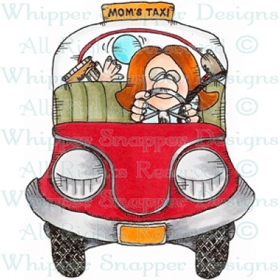 Taxi clipart mom Taxi Taxi Stamps Mom's Rubber
