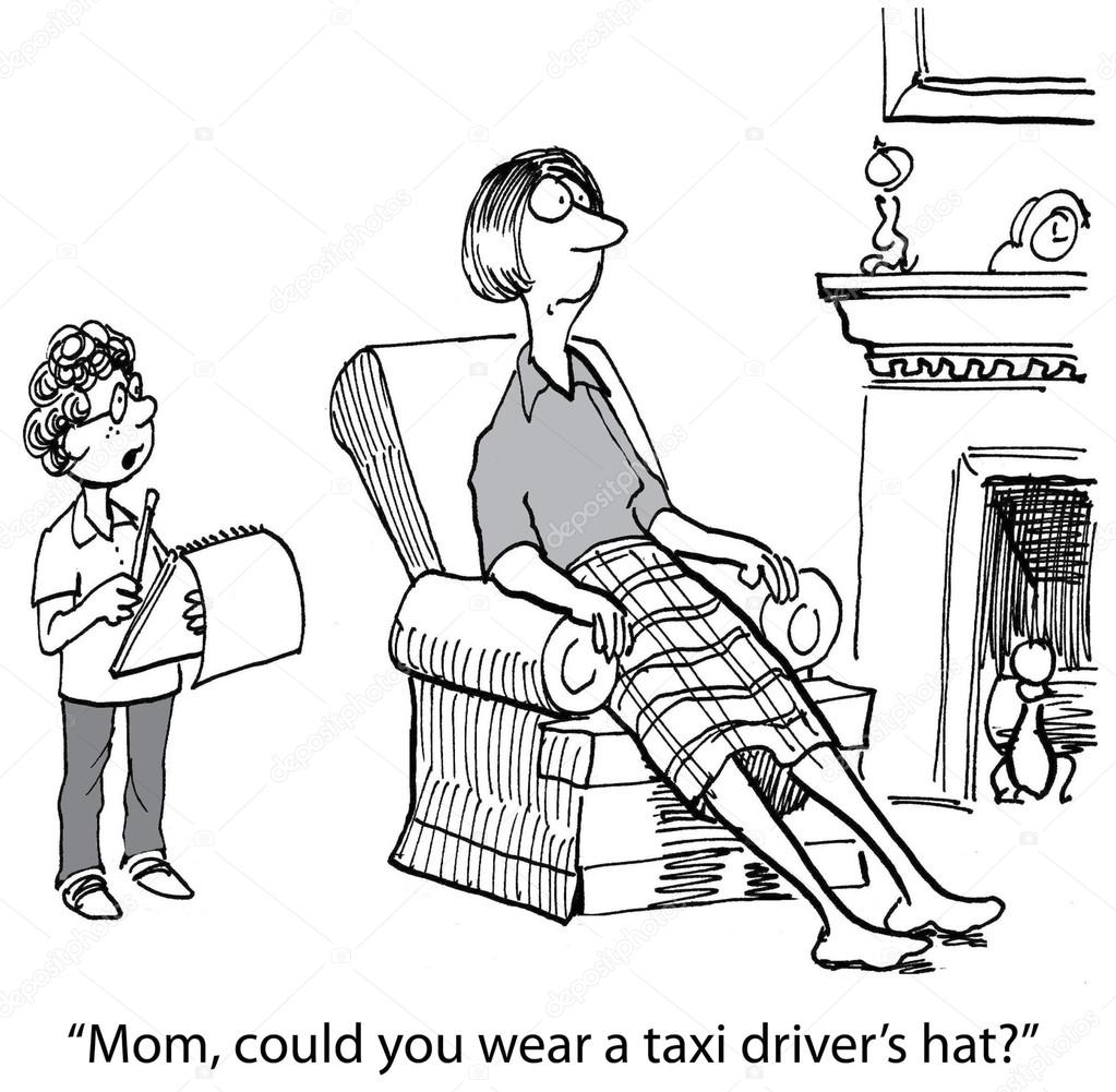 Taxi clipart mom Vector Vector taxi hat andrewgenn