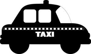 Taxi clipart silhouette Image On Clip A Taxi