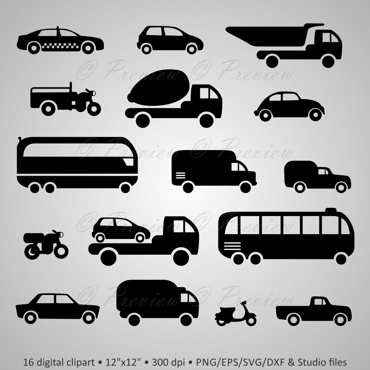 Taxi clipart silhouette Get auto Silhouettes Transport Silhouettes