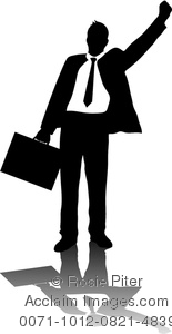Taxi clipart silhouette A A of Image Briefcase