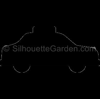 Taxi clipart silhouette Silhouette Silhouette Taxi