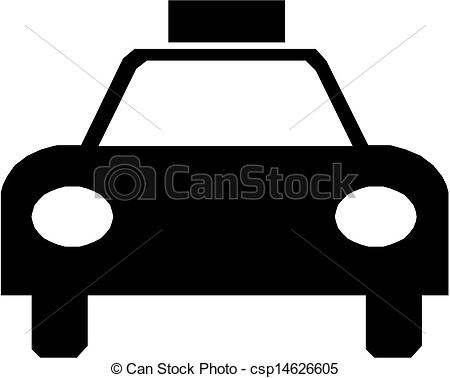 Taxi clipart silhouette Csp14626605 Clipart Sign Sign Taxi