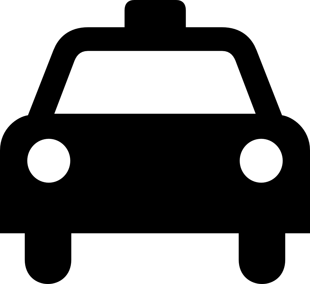 Taxi clipart simple White Panda Images Black And