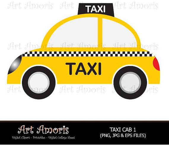 Taxi clipart simple Free Clipart Shadow Taxi New