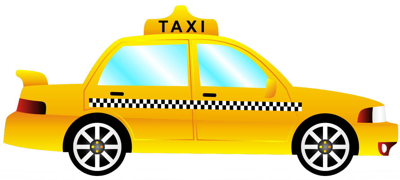 Taxi clipart transparent Image with PNG transparent background