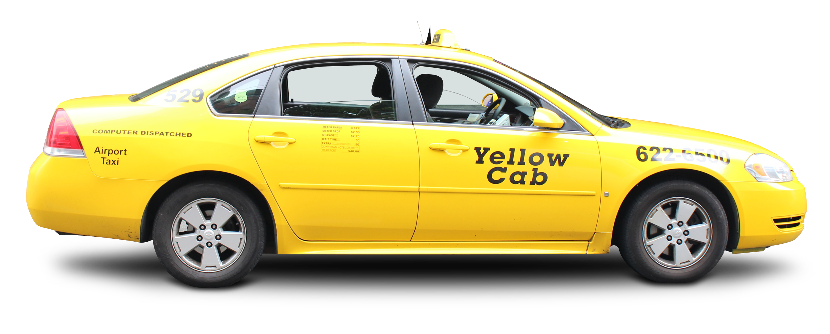 Taxi clipart transparent Yellow cab image images free