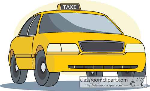 Taxi clipart transparent Transportation : jpg taxi_34 Clipart