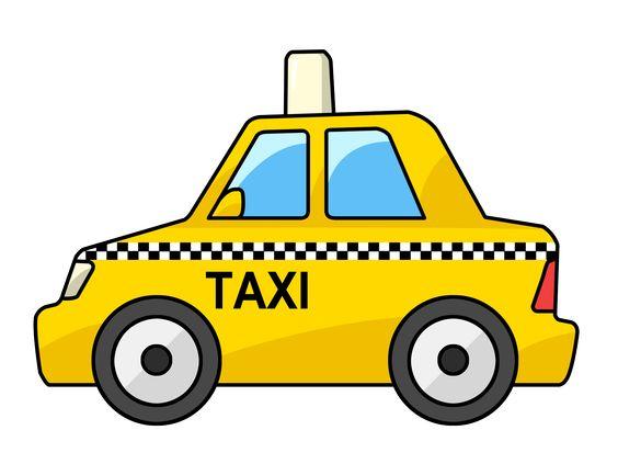 Taxi clipart van Ze een gaan moest taxi