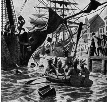Boat clipart boston tea party Boston tea  party