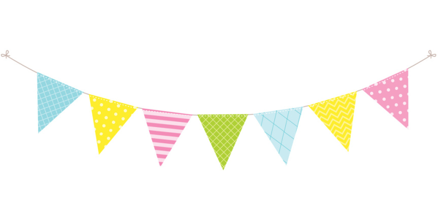 Bunting clipart afternoon tea Been celebrate Our an operating