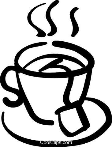 Tea Cup clipart drawn Png Royalty Free clipart Tea