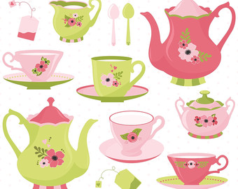 Pastry clipart cream tea 80% Clipart Tea OFF Time