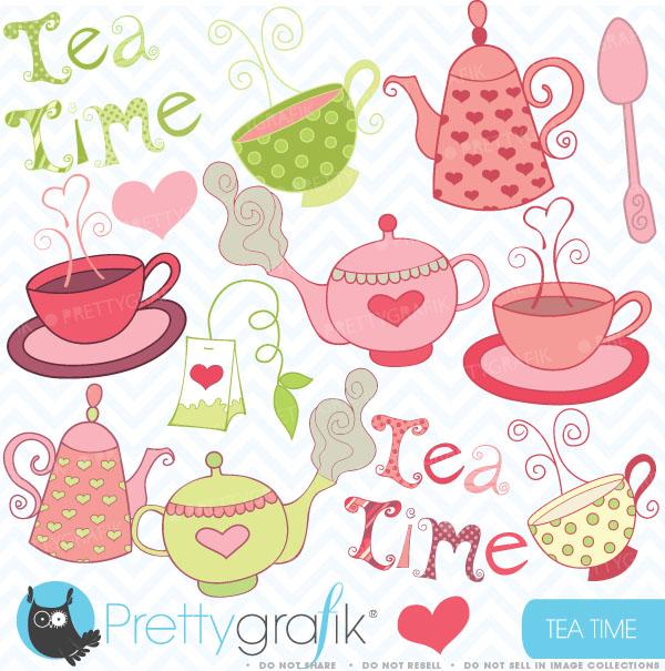 Tea Party clipart Tea Teapot clipart party party