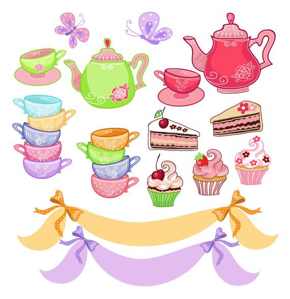 Alice In Wonderland clipart teapot Images on best Tea clip