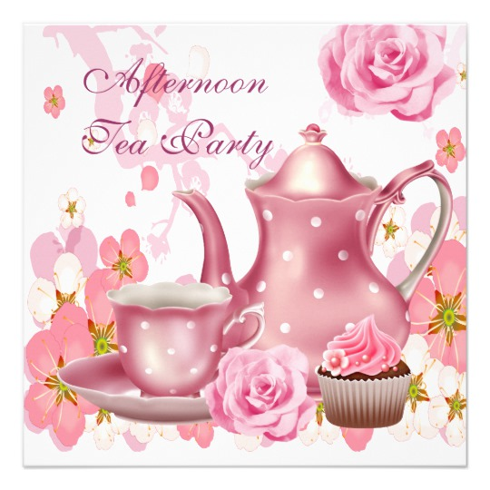 Tea Party clipart 50's #5
