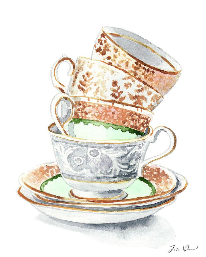 Tea Party clipart antique #8