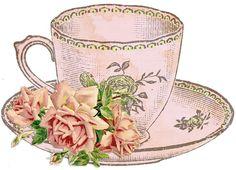 Tea Party clipart antique #2