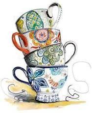Tea Party clipart antique #3