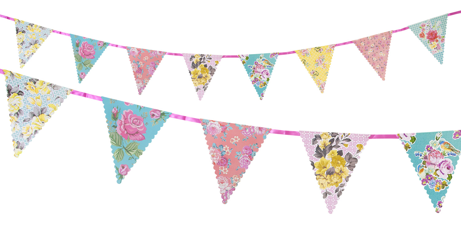 Bunting clipart afternoon tea Truly Bunting Truly Scrumptious Party