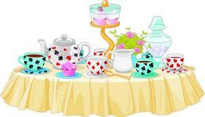 Tea Party clipart cartoon Tea cartoon cartoon party clipart