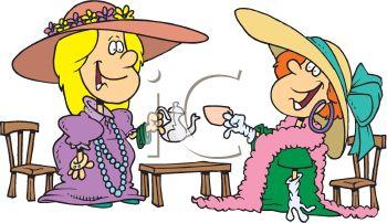 Tea Party clipart cartoon (31+) tea Tea clip party