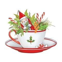 Teacup clipart christmas 74 tea Clip santa about