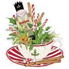 Teacup clipart christmas By Nutcracker The Teacup Thompson)