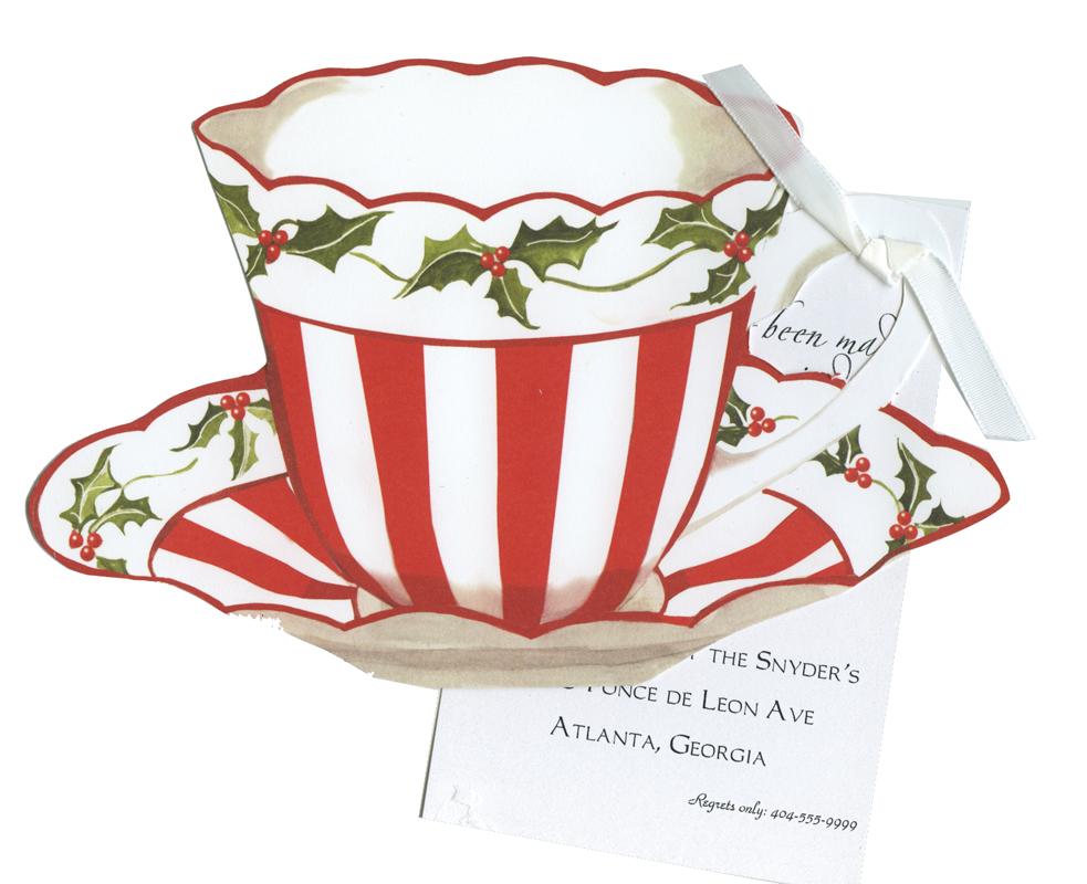 Teacup clipart christmas Tea christmas clipart (59+) Christmas
