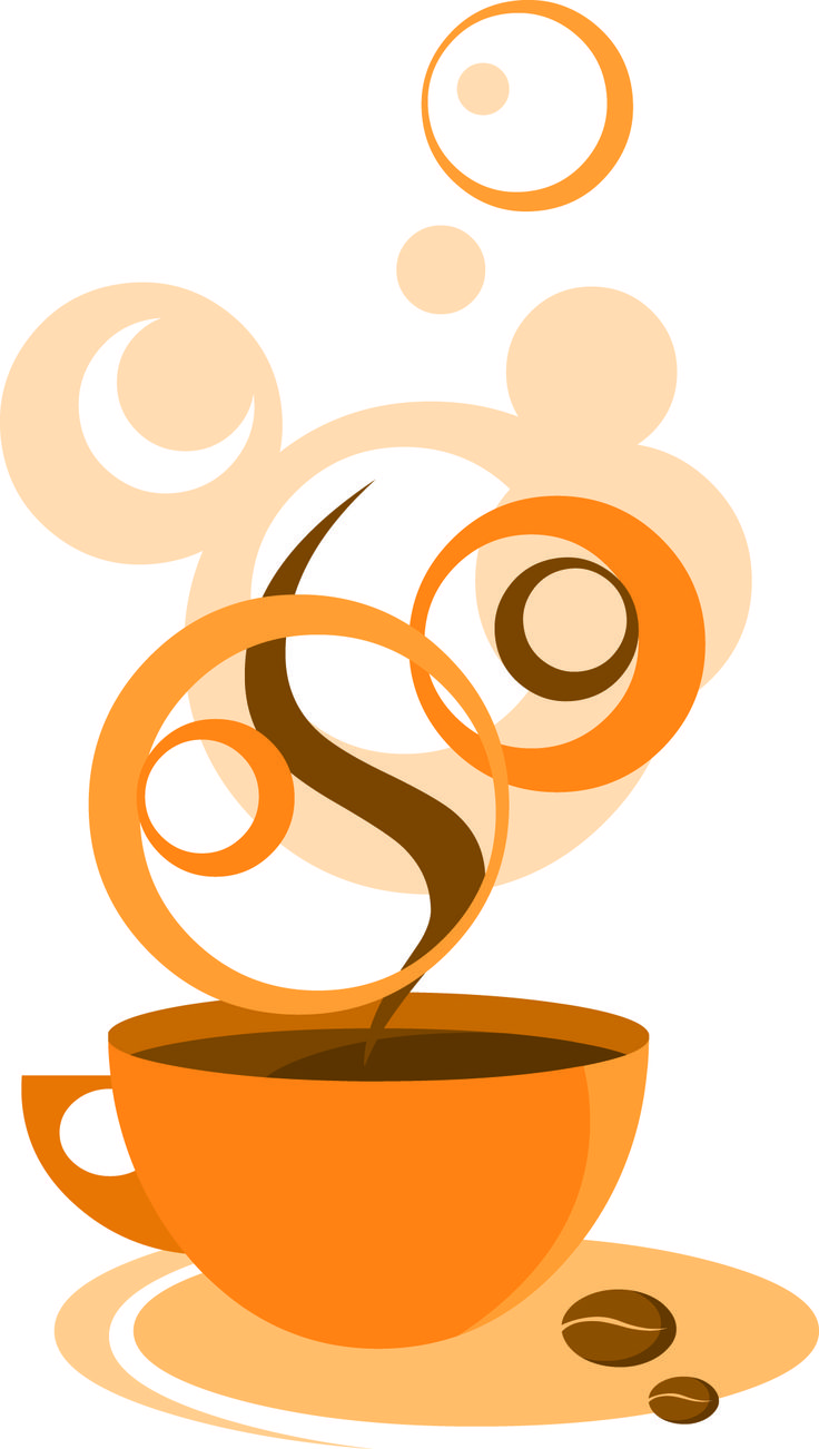 Tea Party clipart coffee morning On 80 Silhouette Cups images