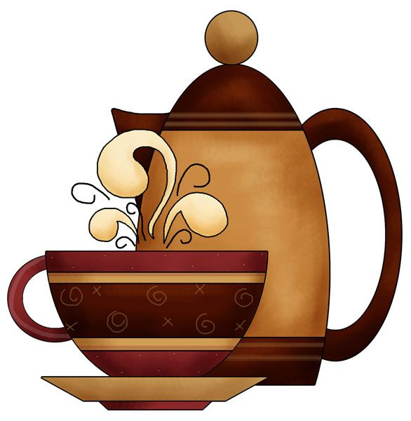 Coffee clipart coffee morning Quilts/Quilting and images Pin Art