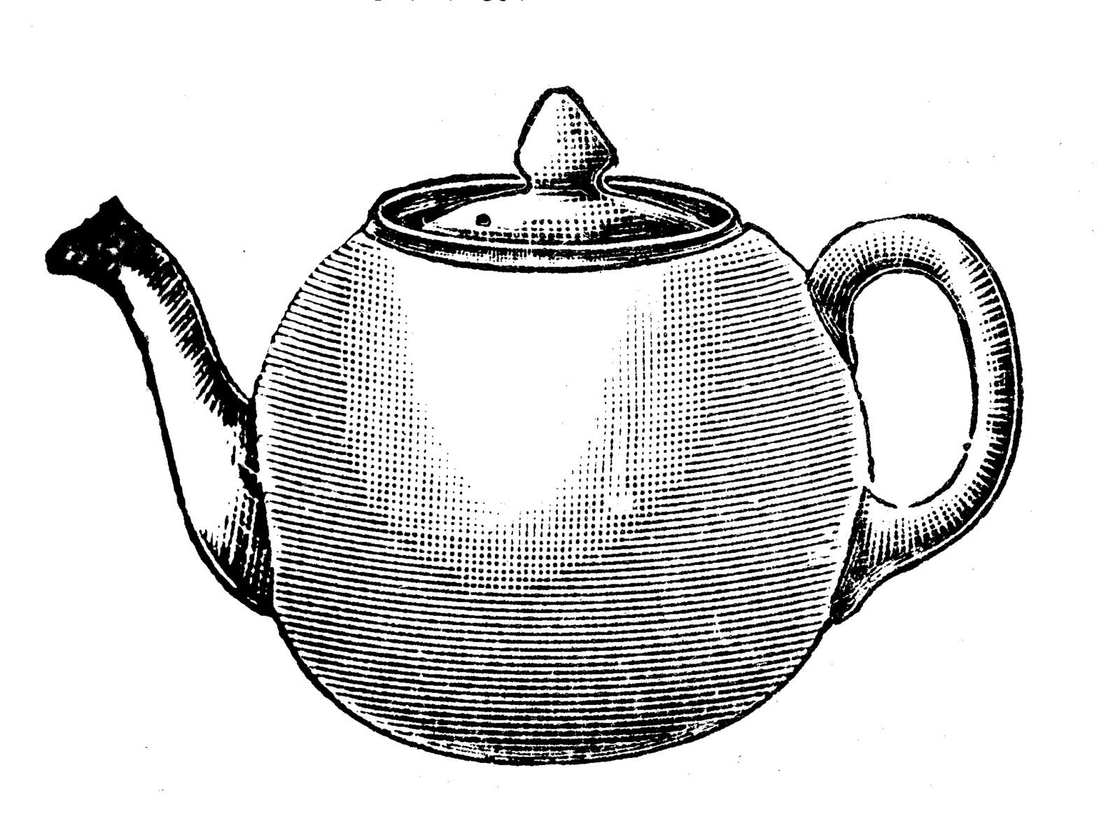 Drawn teacup crockery #6