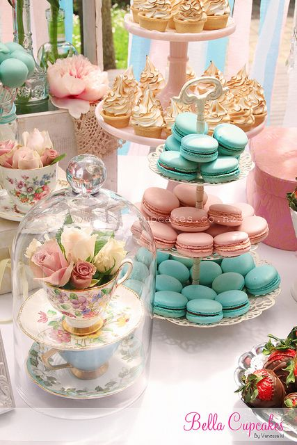 Tea Party clipart dessert table Decorations TablesParty Photo la Sharing!