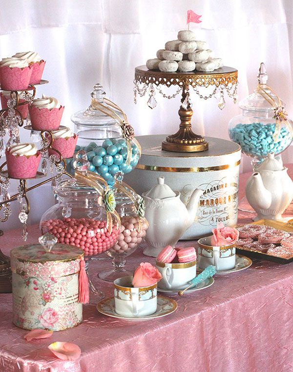Tea Party clipart dessert table Pinterest 20+ EyeCandyCelebrations Party com