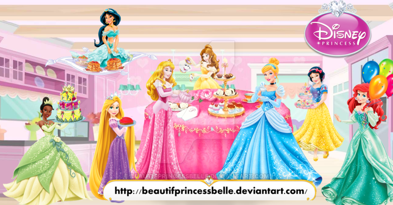Tea Party clipart disney princess Tea on Disney BeautifPrincessBelle by