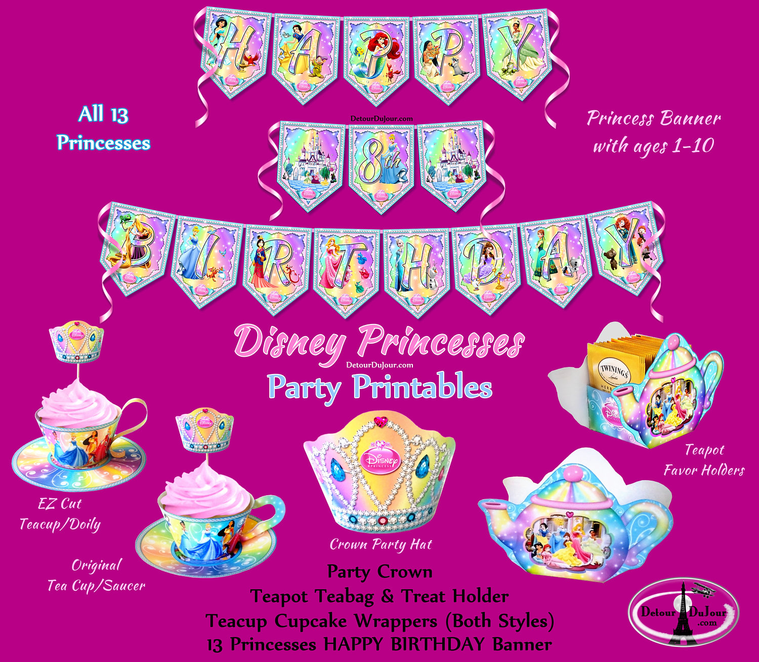 Tea Party clipart disney princess Disney Party Princess Tea Disney