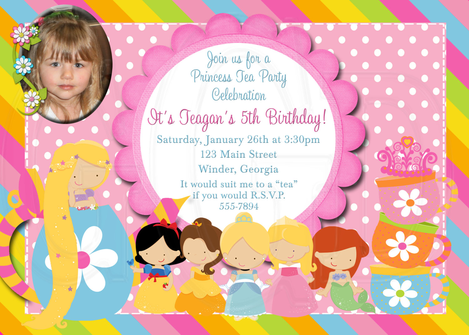 Tea Party clipart disney princess Item? Birthday Party this Princess